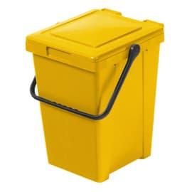 Pattumiera manuale giallo