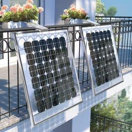 Fotovoltaico fai da te Balcone fioriera 135 W