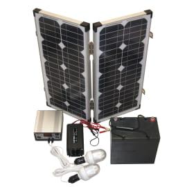 Kit pannello solare con luce PETPS 105 40 W