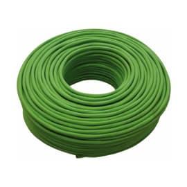 Cavo elettrico 2 fili Matassa 50 m verde