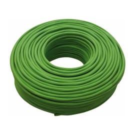 Cavo elettrico 1 filo Matassa 100 m verde