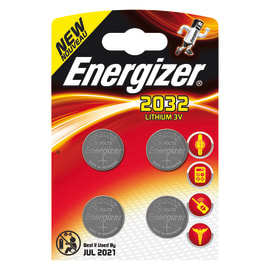 Pila CR2032 / DL2032 ENERGIZER 4 batterie