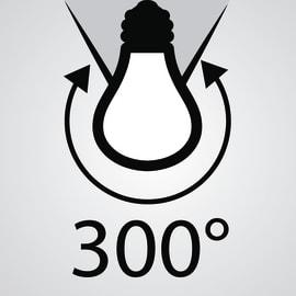 Lampadina LED R7S, 118 mm specifico bianco freddo 9.5W = 1055LM (equiv 75W) 300° LEXMAN