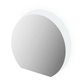Specchio con illuminazione integrata bagno rotondo Sting L 108 x H 100 cm
