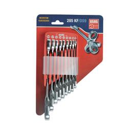 Set di chiavi a cricchetto snodate 8 pezzi