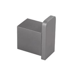 Gancio Oslo grigio spazzolato in alluminio