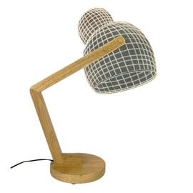 Lampada da tavolo Woody trasparente, in vetro, LED integrato MAX3W IP20