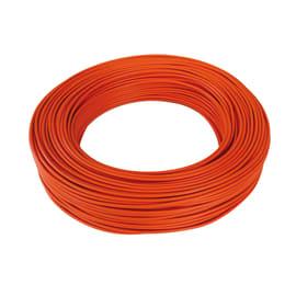 Cavo elettrico BALDASSARI CAVI 1 filo Matassa 100 m arancio