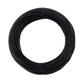 Cavo elettrico LEXMAN 1 filo x 1,5 mm² Matassa 25 m nero