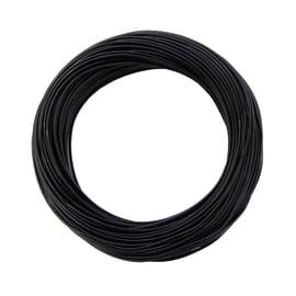Cavo elettrico LEXMAN 1 filo x 1,5 mm² Matassa 5 m nero