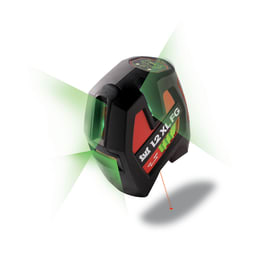 Livella laser SPEKTRA 1.2 XL FG e treppiede TP Light verde