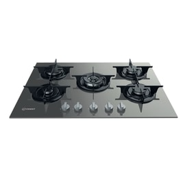 Piastra di cottura a gas 55.5 cm INDESIT PR 752 W / (TD)