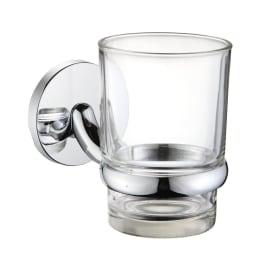 Bicchiere porta spazzolini Suite in vetro