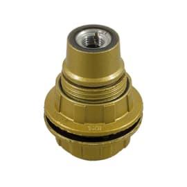 Portalampada E14 oro