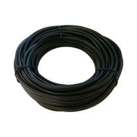Cavo elettrico h05vv-f LEXMAN 2 fili x 1 mm² Matassa 25 m nero