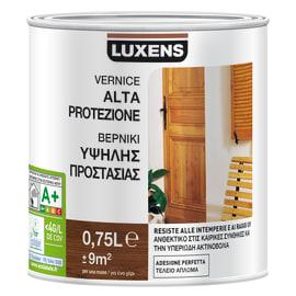 Vernice per legno da esterno liquido LUXENS 0.75 L noce scuro satinato