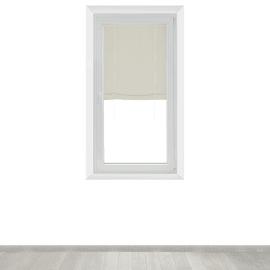 Tendina vetro Mia ecru tunnel 90x150 cm