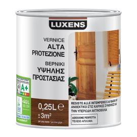 Vernice per legno da esterno liquido LUXENS 0.25 L noce medio lucido