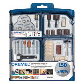 Set accessori miniutensili multiuso DREMEL , 150 pezzi