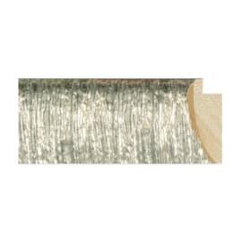 Asta per cornice 83721/4890 argento 3.7 cm