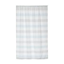 Tendina vetro Molly azzurro e beige tunnel 120x160 cm