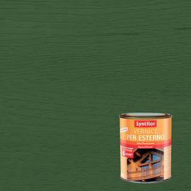 Vernice per legno da esterno liquido SYNTILOR 0.25 L verde lucido