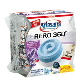 Assorbitore di umidità HENKEL Ariasana Aero 360° tab lavanda 450g