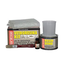 Kit di riparazione vetroresina 500 ml