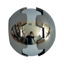 Finale per bastone Ø20mm Budapest sfera in metallo verniciato INSPIRE