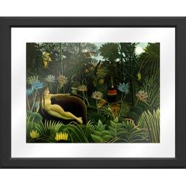 Quadro con cornice Rousseau 45.5x55.5 cm