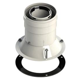 Partenza verticale coassiale per Junkers/Bosch