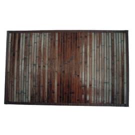 Tappeto Cucina antiscivolo Classic marrone 110x50 cm