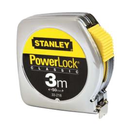 Flessometro pieghevole STANLEY Powerlock plastica 3 m