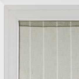 Tendina vetro Lippia grigio tunnel 60x160 cm