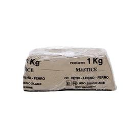 Stucco Mastice Per Vetri grigio 1000 ml