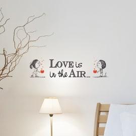 Sticker Love is in 15.5x34 cm