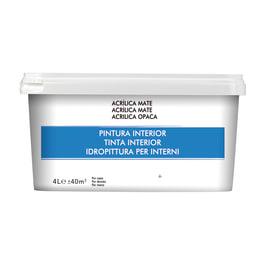 Pittura da interno multisuperficie 4 L blu