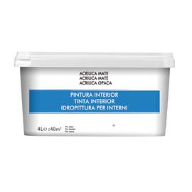Pittura da interno multisuperficie 4 L marrone