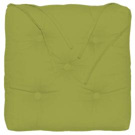 Cuscino per sedia o poltrona Elema verde 40x5 cm
