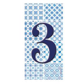 Numero Arabesque 3 , 7.5 x 15 cm