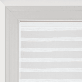 Tendina vetro Utopia bianco tunnel 60x160 cm