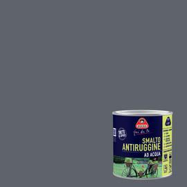 Smalto antiruggine BOERO FAI DA TE grigio scuro 0.5 L