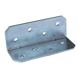 Piastra angolare in acciaio zincato L 50 x Sp 2.5 x H 130 mm