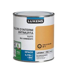 Pittura murale  antimuffa LUXENS 0.75 L giallo solare 1