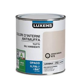 Pittura murale  antimuffa LUXENS 0.75 L grigio dorato 6