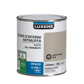 Pittura murale  antimuffa LUXENS 0.75 L grigio 4