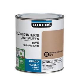 Pittura murale  antimuffa LUXENS 0.75 L marrone cioccolato 5