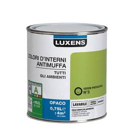 Pittura murale  antimuffa LUXENS 0.75 L verde pistacchio 3