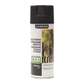 Smalto spray base solvente LUXENS 0.0075 L nero