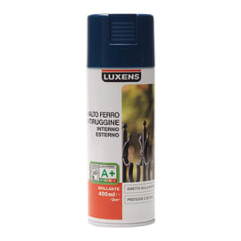 Smalto spray base solvente LUXENS 0.0075 L blu lucido